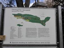 Infotafel zum Felsengarten Sanspareil