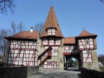 Rödelseer Tor, Südseite