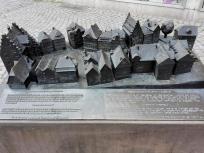 Modell des Marktplatzes