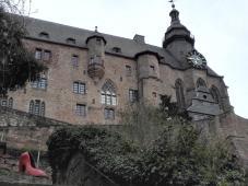 Bick hinauf zum Alten Schloss