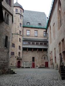 Innenhof des Landgrafenschlosses