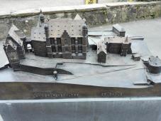 Modell des Alten Schloss Nordseite