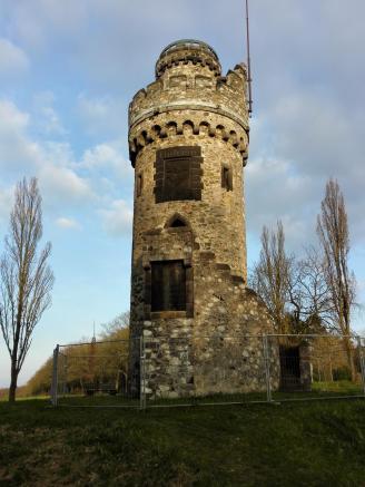 """Die Garbenheimer Warte, seit 1901 ein """"Bismarckturm"""""""