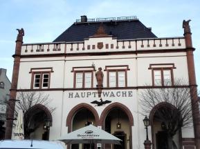 Die Hauptwache am Domplatz - heute ein Restaurant