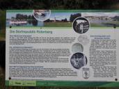 Infotafel zur Dorfrepublik Rüterberg