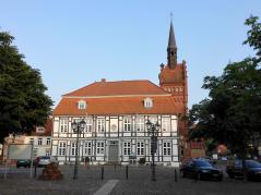 Das Rathaus von Dömitz