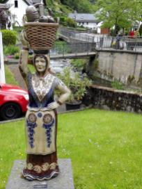Bauernfigur in Grenzau