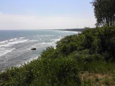 An der Küste zwischen dem Kap Arkona und dem Fischerdorf Viet