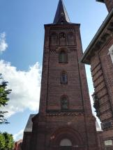 Die Kirche von Plön am Marktplatz