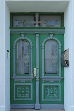 Schönes Eingangsportal in Sassnitz