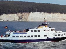 In Sassnitz starten die Ausflugsschiffe zur Kreideküste