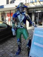 Luckner dient als Werbefigur der Stadt
