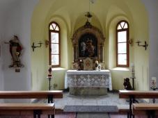 Das Innere der Kapelle