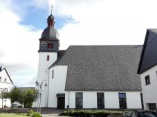 Die Pfarrkirche von Mastershausen