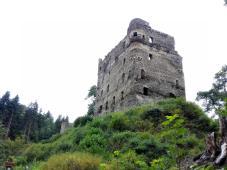 Burgruine Balduinseck bei Mastershausen