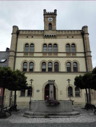 Das alte Rathaus vom Kemnath