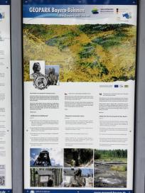 Geologische Stätten in Oberbayern