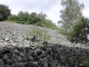 unterhalb des Basaltgürtels