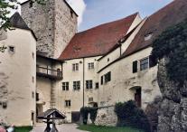 Burg Prunn Innenhof