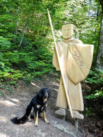 Doxi und der stolze Ritter Holzschild