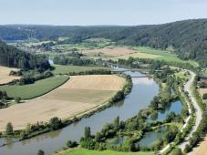 Blick in das Altmühltal Richtung Gundlfing
