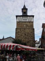 Erhaltenes Stadttor in Weinsberg