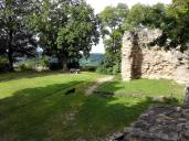 Der Rest des Bergfrieds