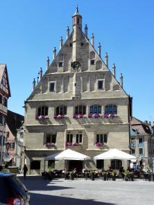 Das alte Rathaus im gotischen Stil