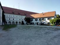 Innenhof der Anlage