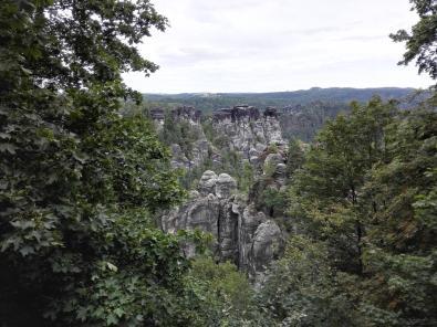 Elbblick von der Bastei