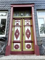 Haustüren an der Salvatoriskirche