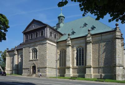 Die Salvatoriskirche in Zellerfeld (Foto: Johamar   http://commons.wikimedia.org   Lizenz: CC BY-SA 3.0 DE)