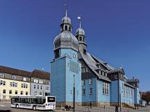 Seitenansicht der Marktkirche (Foto: Kassandro | http://commons.wikimedia.org | Lizenz: CC BY-SA 3.0 DE)