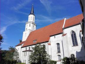 Die Dorfkirche von Coswig