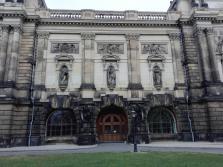 Fassade des Albertinum