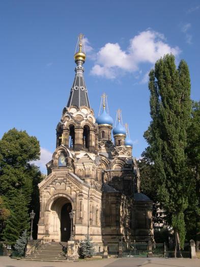 Die Russisch-Orthodoxe Kirche von Dresden (Foto: Bernd Hutschenreuther | http://commons.wikimedia.org | Lizenz: CC BY-SA 3.0 DE)