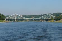 "Die Brücke ""Blaues Wunder"" (Foto: Nikater 