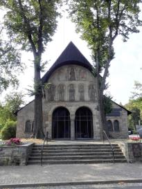 Eingangshalle des 1050 geweihten und 1819 abgebrochenen Doms