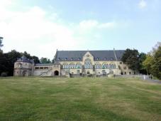 Die wiederaufgebaute Kaiserpfalz am Rande der Altstadt von Goslar