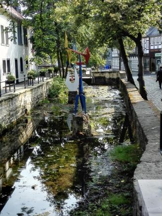 Der Fluss Abzucht durchfließt die Altstadt