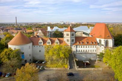 Die Moritzburg (Foto: Fenchelkiwi1 | http://commons.wikimedia.org | Lizenz: CC BY-SA 3.0 DE)