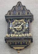 Uhr am Stadtbad (Foto: Jwaller   http://commons.wikimedia.org   Lizenz: CC BY-SA 3.0 DE)