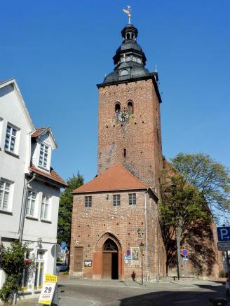 Die Dorfkirche von Havelberg