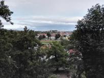 Blick vom Schlossberg zur anderen Elbseite
