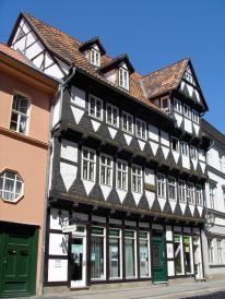 Fachwerkhaus in der Marktstraße (Foto: Thomas Wozniak   http://commons.wikimedia.org   Lizenz: CC BY-SA 3.0 DE)