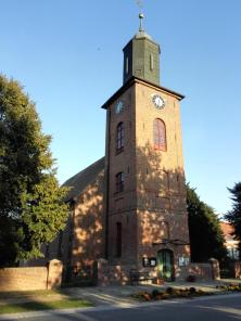 Die Dorfkirche von Rühstadt