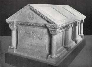 Sarkophag, in dem Bismarck bestattet ist