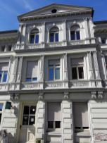 Hübsch rekonstruierte Bürgerhäuser ...