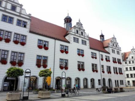 Das Rathaus von Torgau