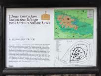 Infotafel zum Schloss Wernigerode